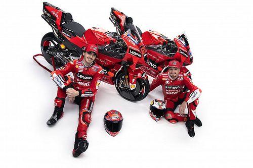 Ducati показала новый мотоцикл для MotoGP. Lenovo повысили до титульного спонсора