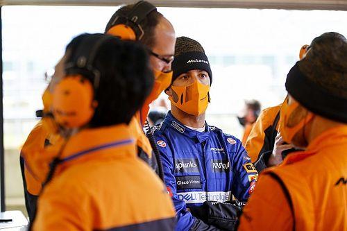 Ricciardo a eu du mal à rentrer dans la McLaren