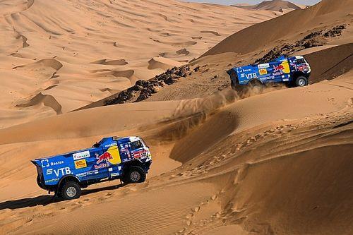Восьмой этап «Дакара» принес тройной успех гонщикам на КамАЗах