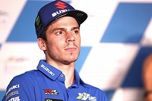 "Defending MotoGP champion Mir ""very pissed off"" after Qatar practice"