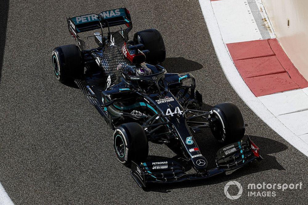 """Hamilton: Abu Dhabi return like """"first day back to school"""""""