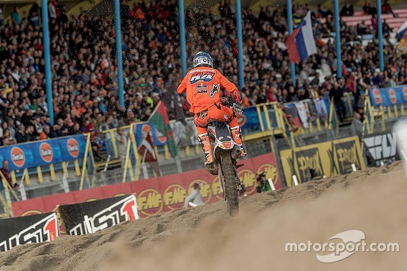 MXGP Assen: Wereldkampioen Herlings wint ondanks val GP van Nederland