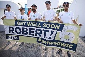 Robert Wickens es trasladado a un hospital de Indianápolis