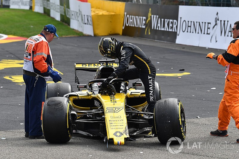 Hulkenberg hit with 10-place grid penalty for Monza