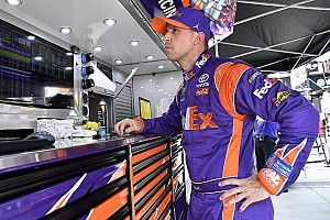 Defending winner Denny Hamlin fastest in first Darlington practice