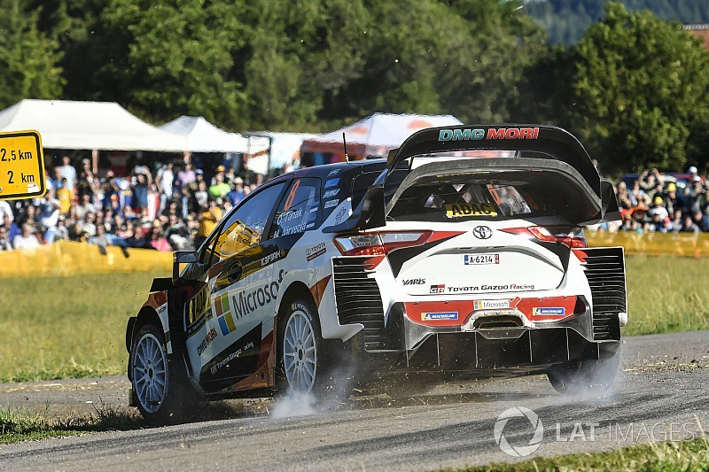 Germany WRC: Tanak edges further clear of Ogier