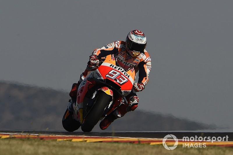 MotoGP Aragon FT2: Marquez vor Lorenzo Schnellster