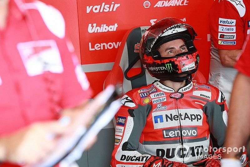 Ducati won't stop Lorenzo testing for Honda in November
