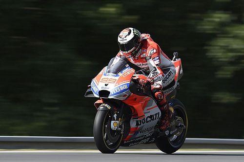 Лоренсо сравнил переход в Ducati с переходом в другой класс