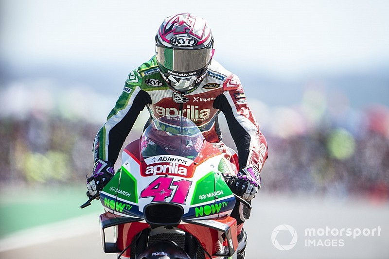 Espargaro: Aprilia can't be fooled by Aragon result