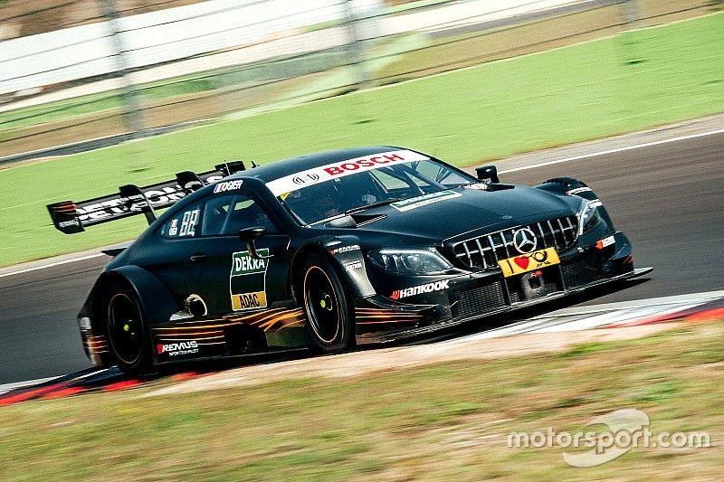 """Ogier """"amazed"""" Mercedes in testing for DTM debut"""