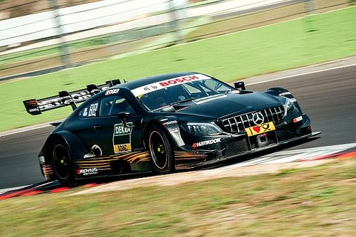 Fotogallery: Sebastien Ogier in pista con la Mercedes DTM a Vallelunga
