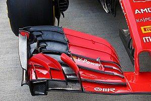 A Hungaroringen tesztelt szárnyat reaktivált a Ferrari Szocsiban