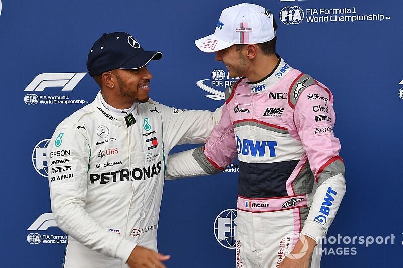 Hamilton dice que Ocon es excepcional y debe estar en un gran auto