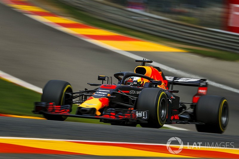 "Ricciardo confused by time loss ""everywhere"" at Spa"