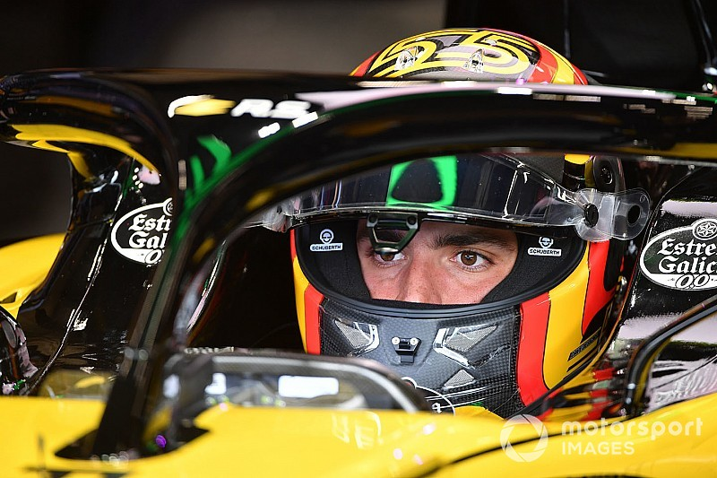 """Sainz: """"Discussie over nut halo is voorbij, maar F1 kan hem nog mooier maken"""""""