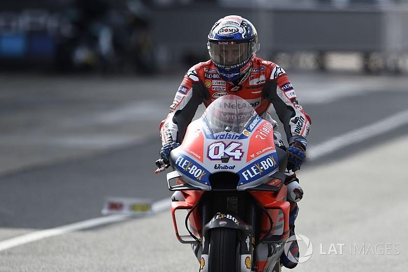 MotoGP Misano 1. antrenman: Dovizioso hızlı başladı