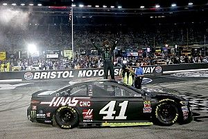 Opinion: Bristol Night Race win says much about SHR, Kurt Busch