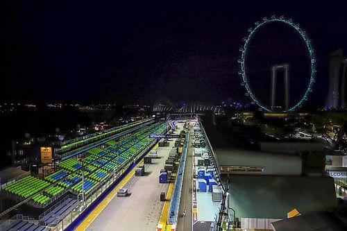 シンガポールGP、サーキットに小変更。1周の距離が2m短縮