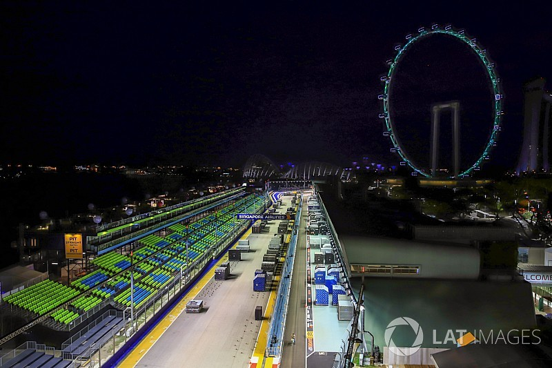 Singapore track length reduced by two metres