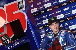 Vinales withdraws from Brno test due to shoulder pain