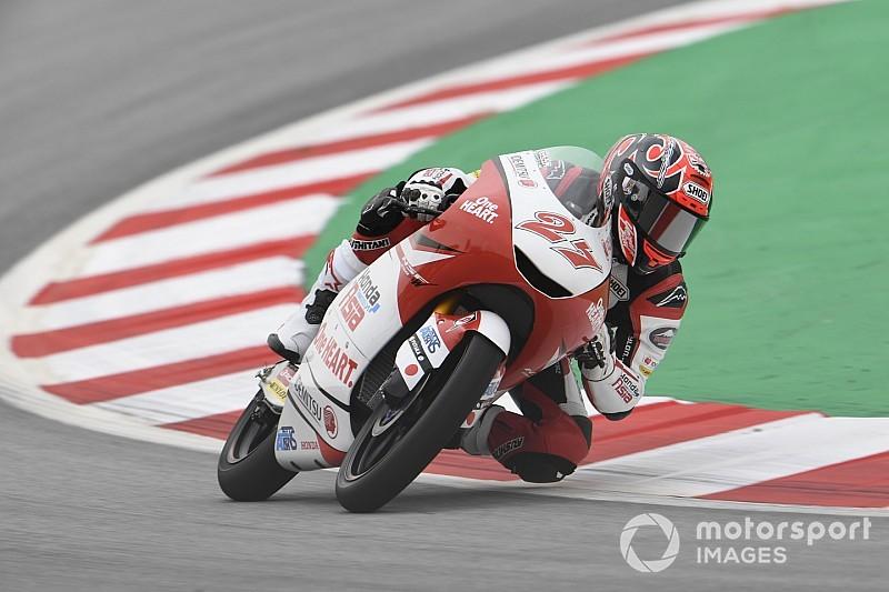 Moto3カタルニア決勝:鳥羽、最終周首位走行も転倒! ラミレス初優勝