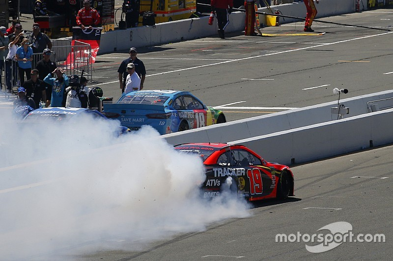 "Kyle Busch: Second at Sonoma ""sucks"" but ""good for the company"""