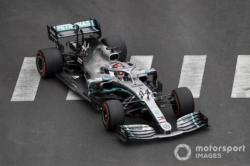 Monaco GP 1. antrenman: Açılışı Hamilton ve Mercedes yaptı