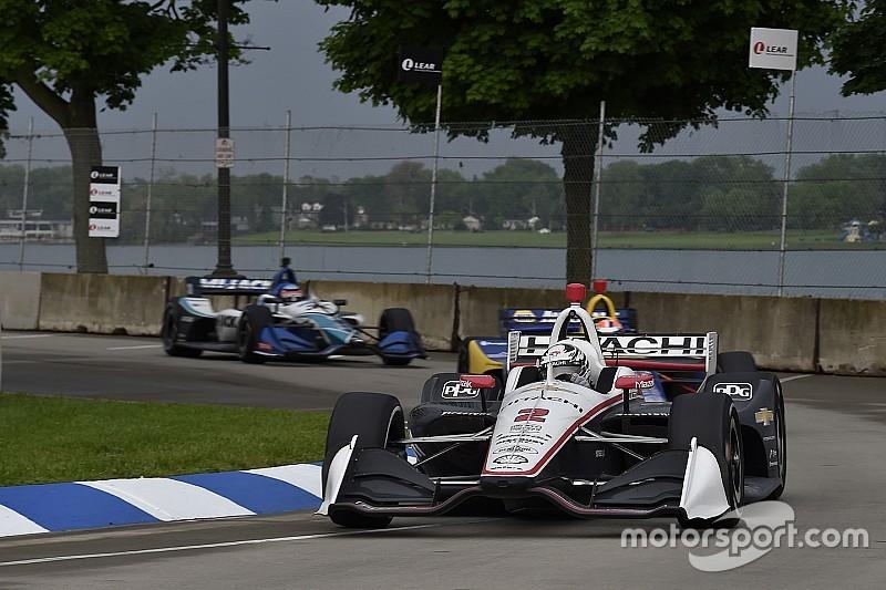 IndyCar Detroit 1: Newgarden gewinnt Strategiepoker nach Gewitter
