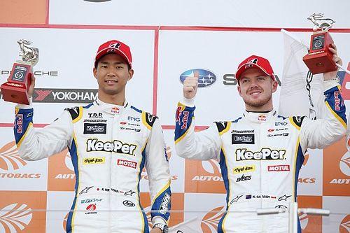 今季初の2位表彰台の平川亮&ニック・キャシディ「自分たちの力は出し切れた」