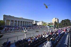 F1アゼルバイジャンGP、開催延期が決定。グランプリの中止・延期は8レース目に