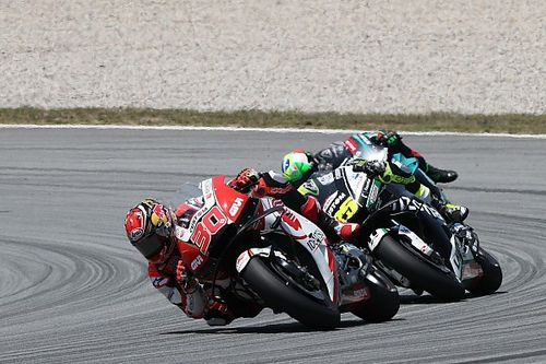 "Crutchlow ""not impressed"" with Nakagami after Barcelona scrap"