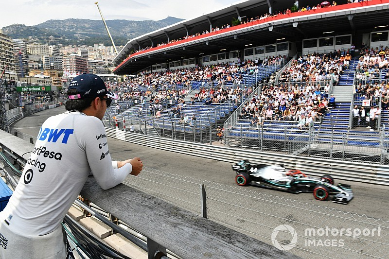 Pérez: Sin lluvia en Mónaco la carrera será un gran dolor