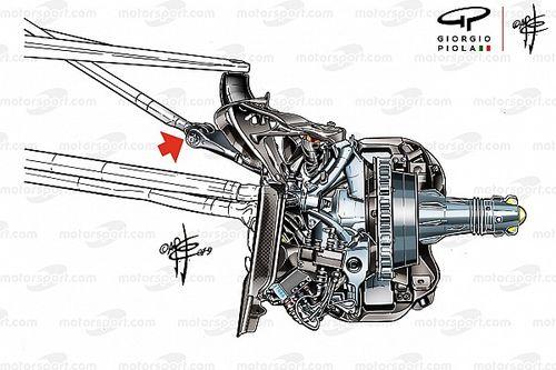 Mercedes: ecco la sospensione che ha aiutato Hamilton a salvare le gomme anteriori