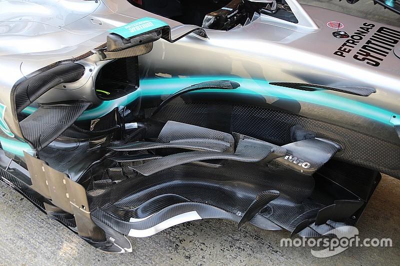 Formel-1-Technik: Detailfotos beim GP Spanien