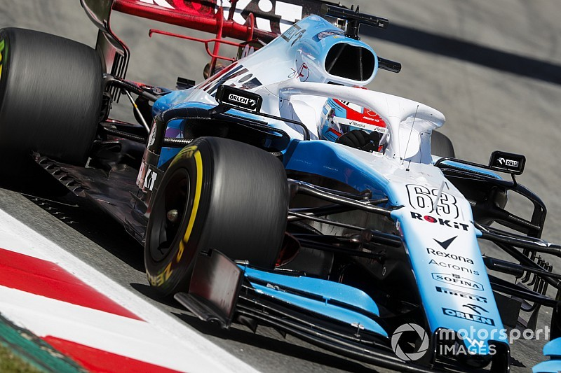Russell and Kubica swap chassis for Spanish GP
