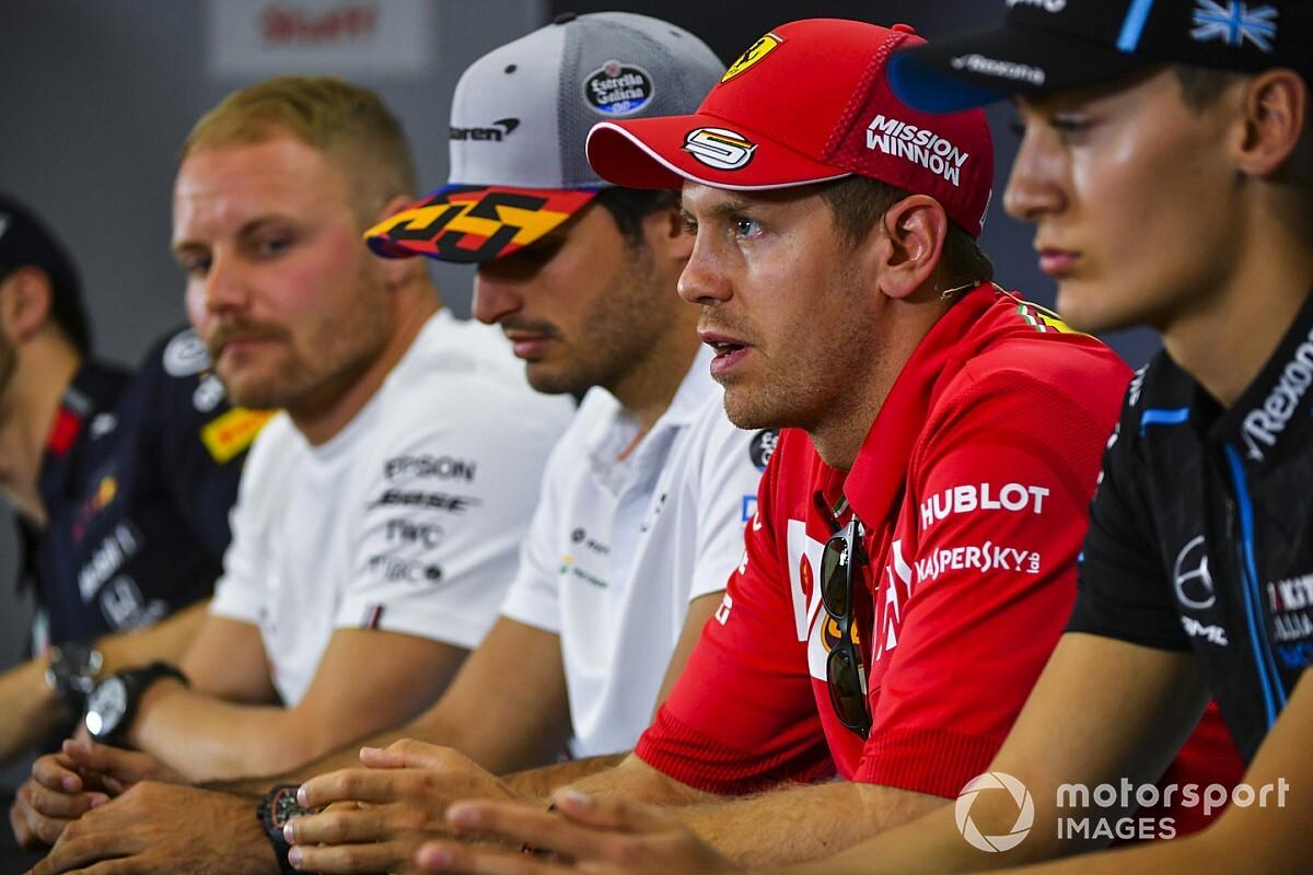 """Reginaldo Leme se surpreende com Sainz na Ferrari e opina sobre futuro de Vettel: """"Imagino ele em casa"""""""