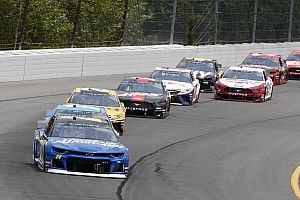 Pocono Raceway adds traction compound in all three turns