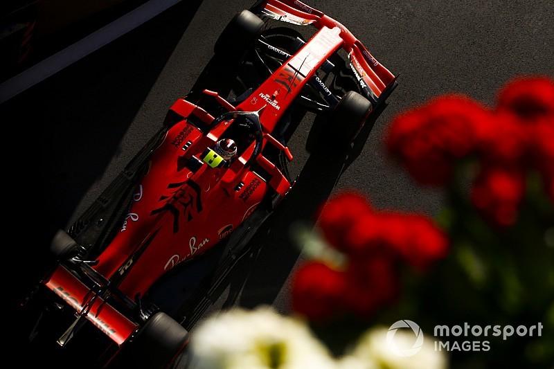 Azerbaycan GP 3. antrenman: Leclerc ve Ferrari yine lider!