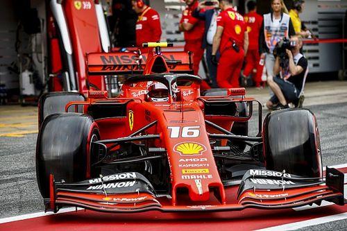 Les évolutions de Ferrari à Barcelone en 3D