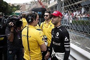 Ricciardo dühös a Renault taktikai malőrje miatt