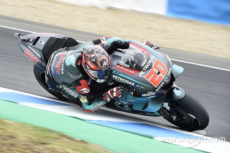 Quartararo 'can only be happy' with Jerez weekend