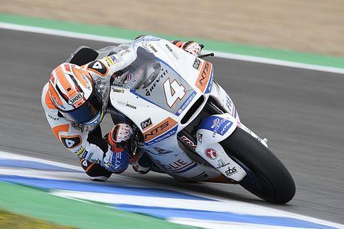 Moto2, Le Mans, Libere 3: Odendaal e la NTS stupiscono con l'umido
