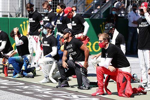 Гонщиков Формулы 1 все-таки заставят протестовать против расизма
