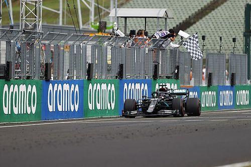 Las fotos del cambiante GP de Hungría de F1