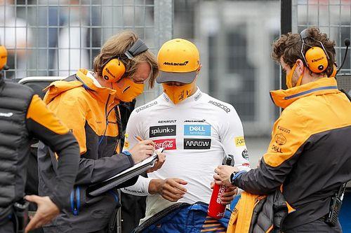 Norris y cómo hacer de mecánico de tu propio Fórmula 1