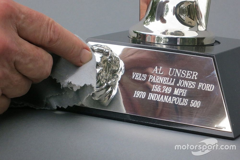 Unser to receive 'Baby Borg' celebrating 1970 Indy 500 win