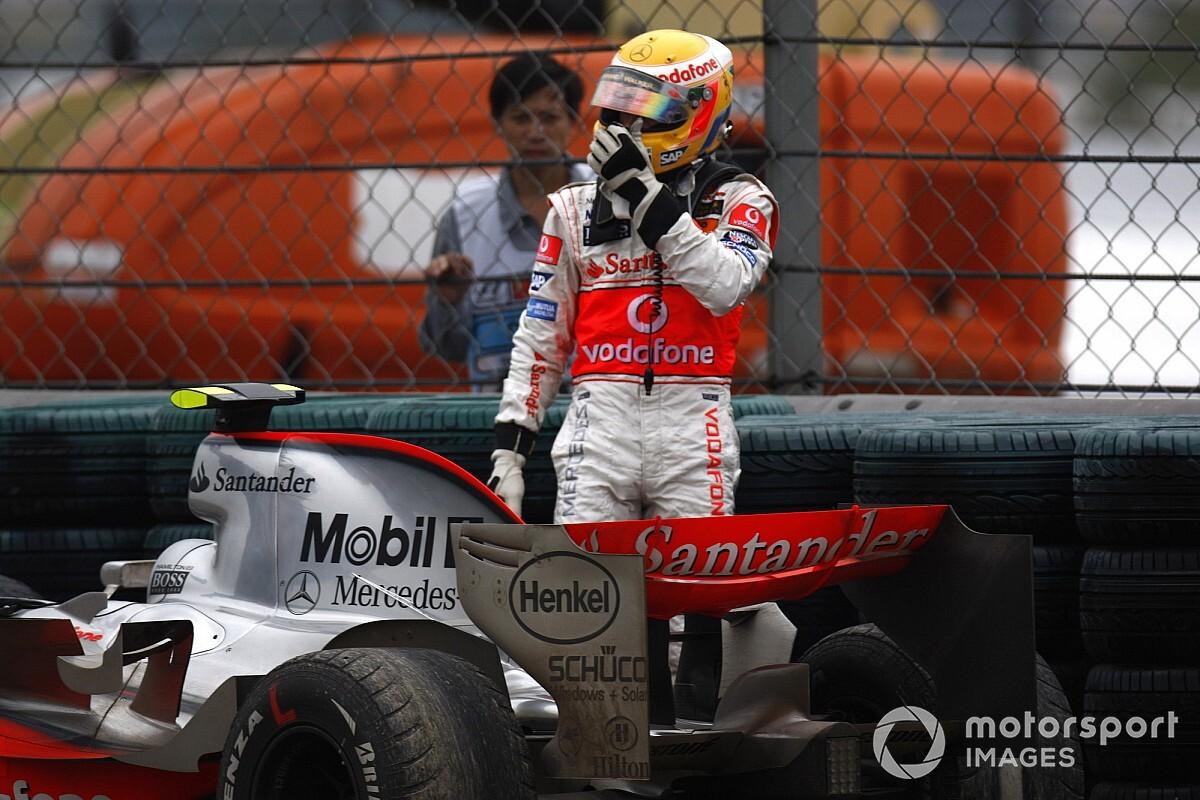 Lewis Hamilton s'est souvenu de la leçon du GP de Chine 2007