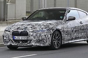 Nuova BMW Serie 4 Coupé, grande griglia e interni diversi dalla Serie 3