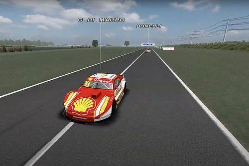 Gaetano di Mauro volta a defender a Shell em prova virtual da Turismo Carretera